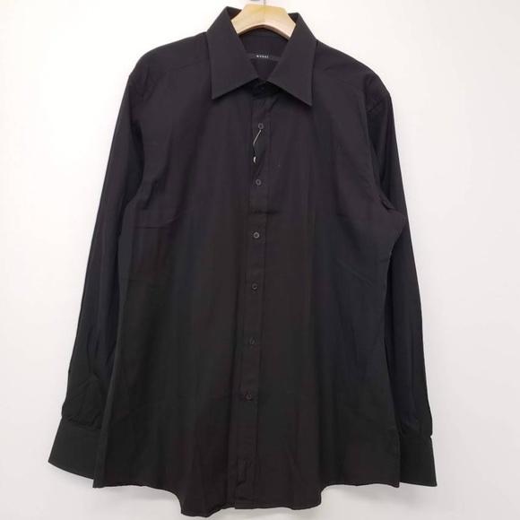 99e6accf Gucci Shirts | Fitted Button Up Shirt Black | Poshmark